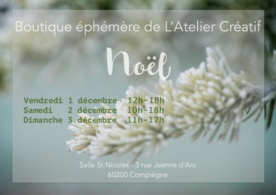 Flyer Recto Noël Atelier Créatifjpeg